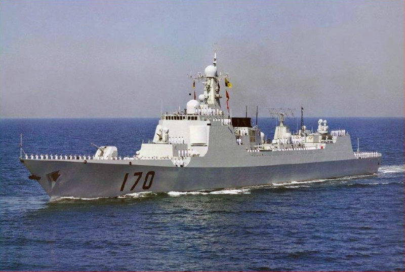 A Chinese Luyang II (Type 52C) destroyer, similar to the vessel used in recent maritime exercises with Iran,  underway. Increased military cooperation between China and Iran means more security for Chinese investments, but what are the implications for the current sanctions regime?  Source: Wikimedia, U.S. Government Work.