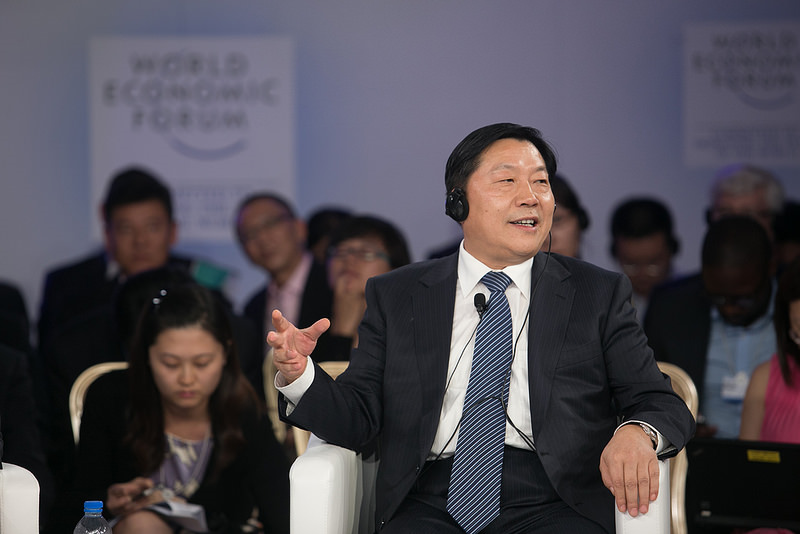 Lu Wei, China's cyber czar. Source: World Economic Forum's flickr photostream, used under a creative commons license.